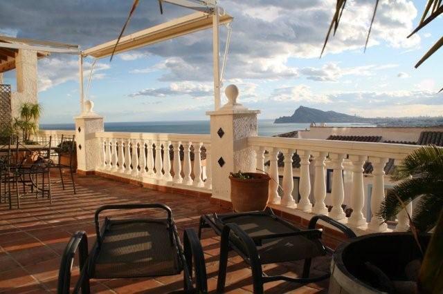 Altea -    Aussicht aufs Meer