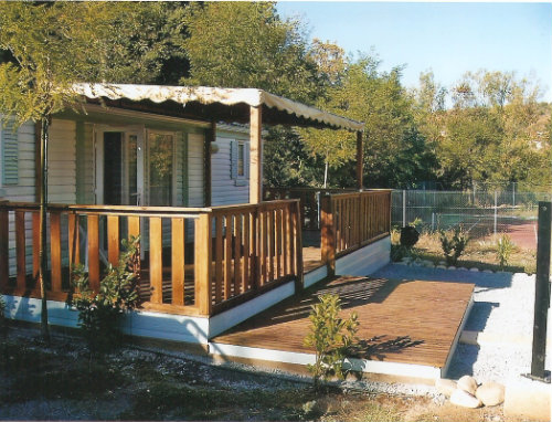 Mobil-home 6 personnes Berrias Casteljau - location vacances  n°32672