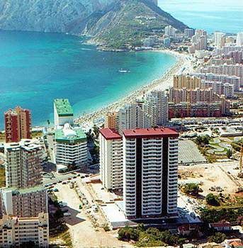 Calpe -    view on sea