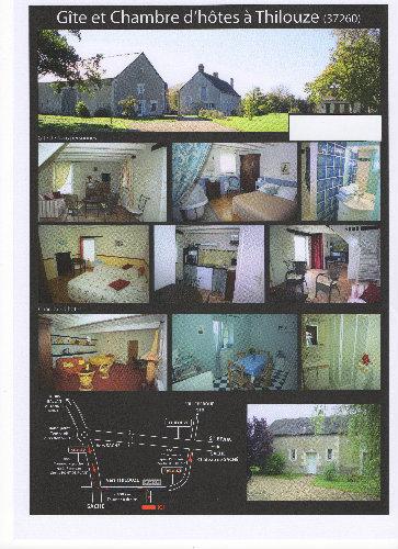 Gite Thilouze - 4 personnes - location vacances  n°32843