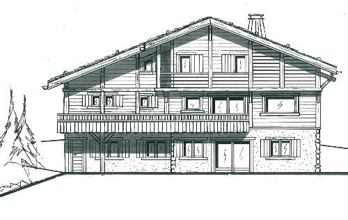 Chalet in Le Grand Bornand - Vacation, holiday rental ad # 32954 Picture #0