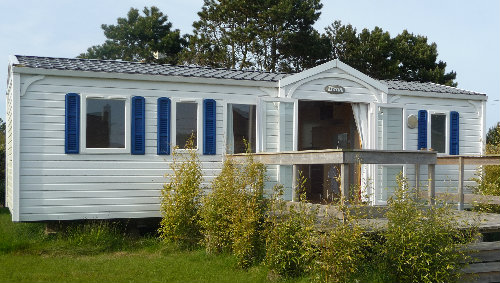 Mobil-home Cleder - 8 personnes - location vacances  n°33260