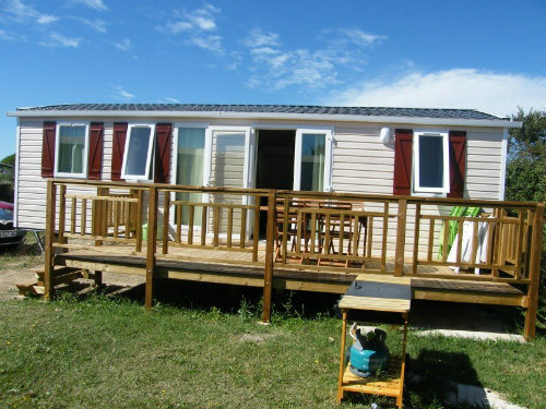 Mobil-home Lattes - 8 personnes - location vacances  n°33499