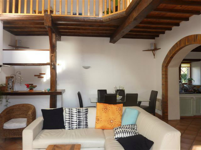 Haus in Prat für  4 •   Hof