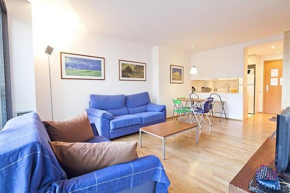 Apartamento en Barcelona para  4 •   1 dormitorio