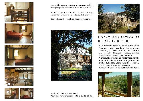 Huis 6 personen Vivario - Vakantiewoning  no 33995