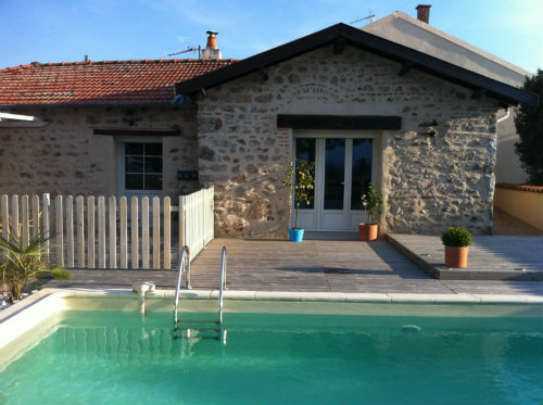Gite 6 people Ambierle - holiday home  #34014