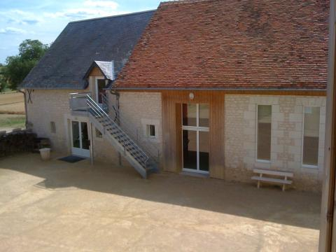 Gite St Sauveur - 22 people - holiday home  #34067