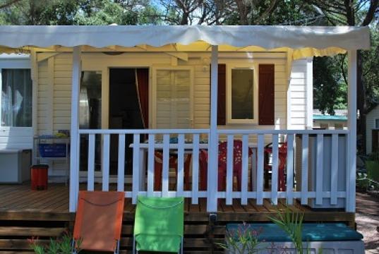 Bungalow 6 personnes Puget Sur Argens - location vacances  n°34165