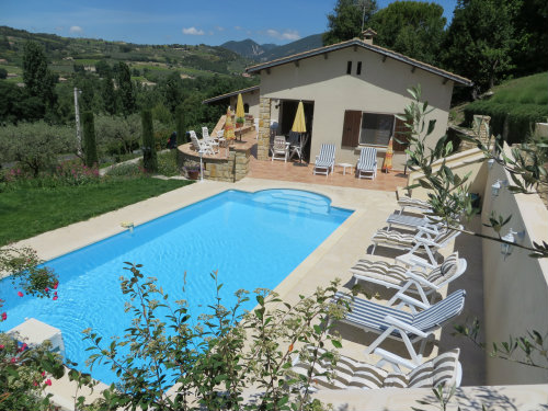 House in Mirabel-Aux- baronnies - Vacation, holiday rental ad # 34300 Picture #4