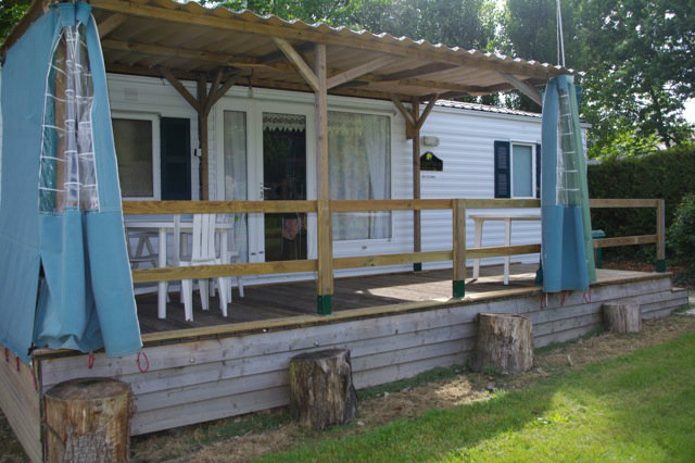Mobile home in Languenan - Vacation, holiday rental ad # 34321 Picture #1