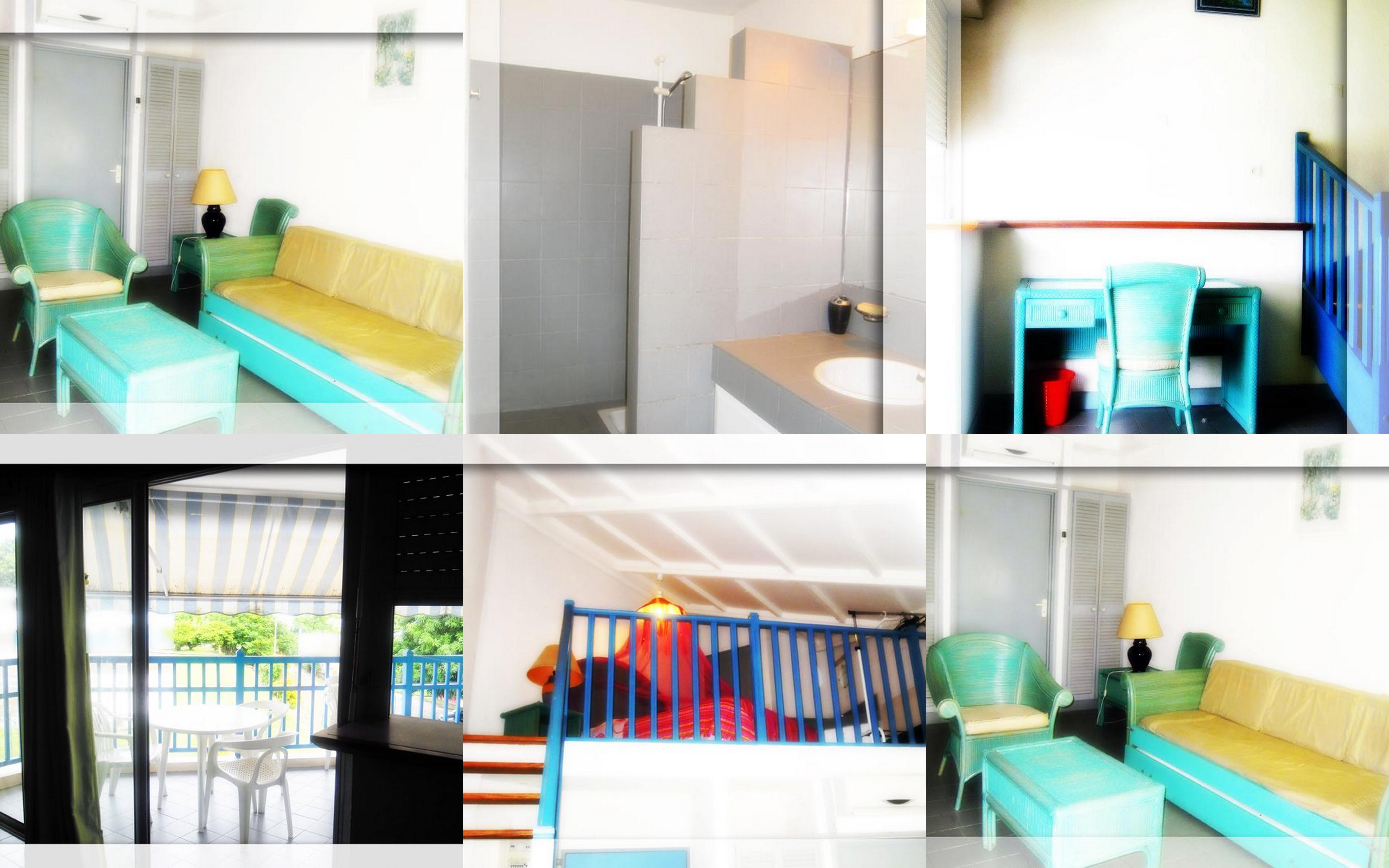 Studio 4 personnes Diamant - location vacances  n°34694