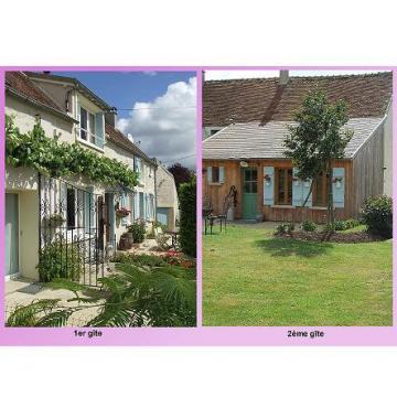 Gite à Amillis pour  6 •   avec terrasse