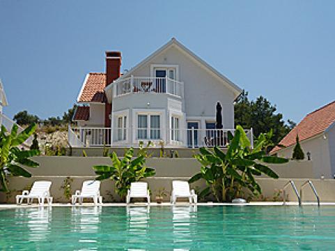Maison à Kusadasi - sogucak pour  8 •   vue sur mer