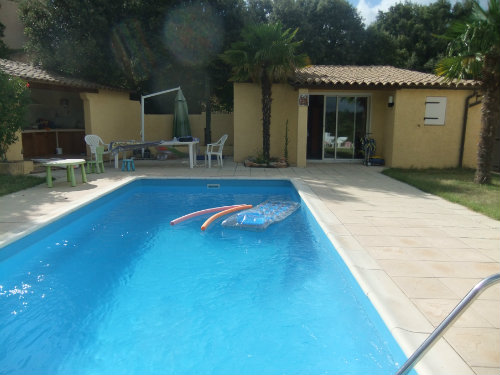 House in St Julien le Montagnier - Vacation, holiday rental ad # 34912 Picture #5