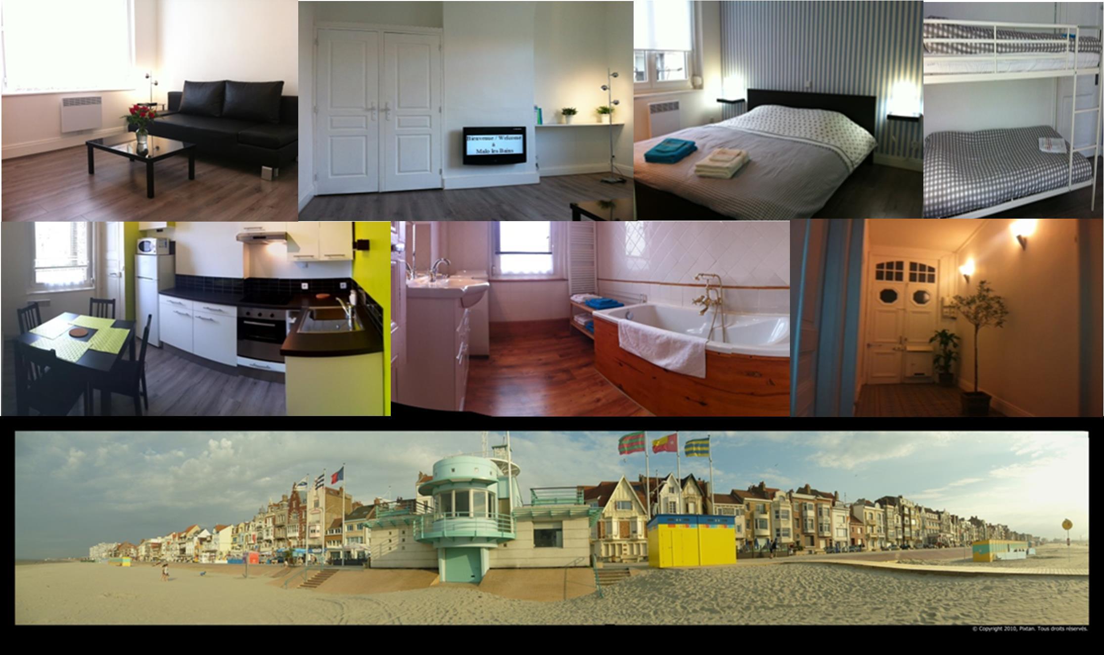 gite malo les bains dunkerque louer pour 4 personnes location n 34489. Black Bedroom Furniture Sets. Home Design Ideas
