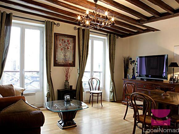 Appartement paris louer pour 5 personnes location n for Appart hotel paris pour 5 personnes