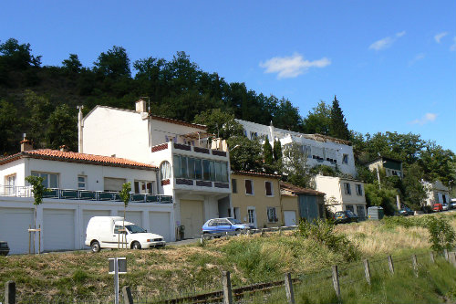 Flat in Quillan for   4 •   with terrace