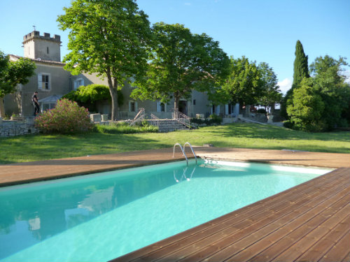 Gite in Sommières for   2 •   with private pool   #35291