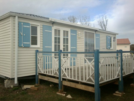 Mobil-home Beaugeay - 5 personnes - location vacances  n°35321