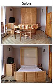 Studio 4 personnes Gruissan - location vacances  n°35473