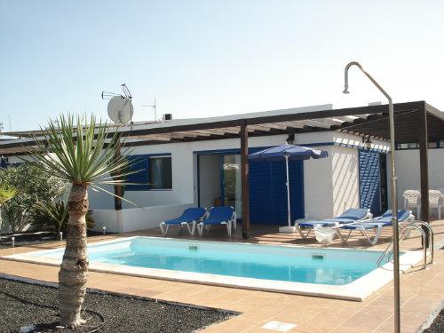 Maison 4 personnes Playa Blanca - location vacances  n°35618