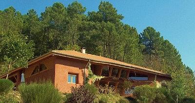 Maison 15 personnes Saint André Lachamp - location vacances  n°35716