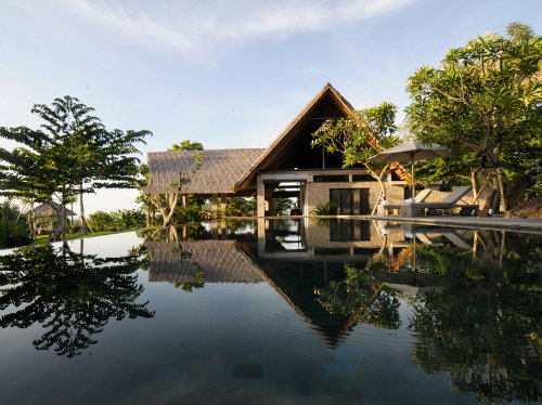 Bali -    uitzicht op zee