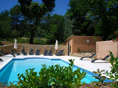 Gite 4 personnes Fayence - location vacances  n°36202