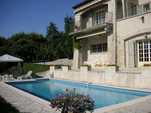 Maison 8 personnes St Paul De Vence - location vacances  n°36533