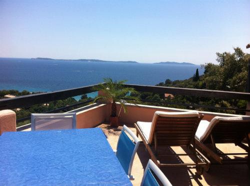 Rayol canadel -    uitzicht op zee