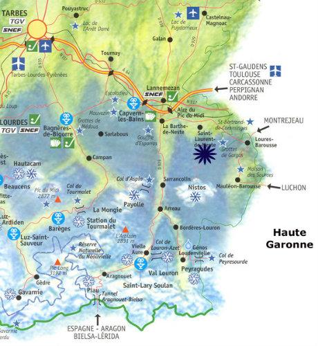 Appartement La Barthe De Neste - 4 personnes - location vacances  n�37033