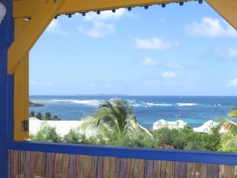 Saint martin -    view on sea