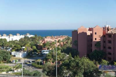 Appartement in Estepona für  7 •   Aussicht aufs Meer