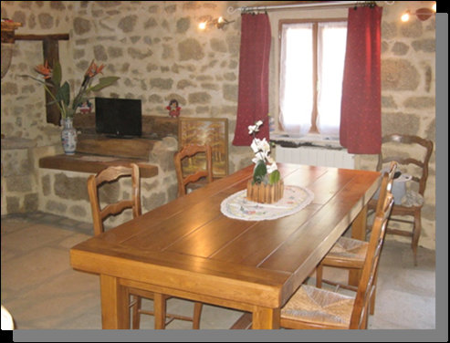 Gite Sermur - 5 people - holiday home  #37250