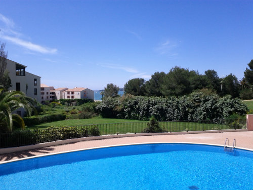Flat in Six fours les plages - Vacation, holiday rental ad # 37330 Picture #1