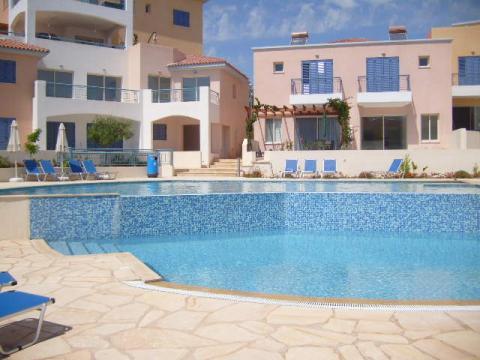 Appartement in Paphos voor  4 •   uitzicht op zee