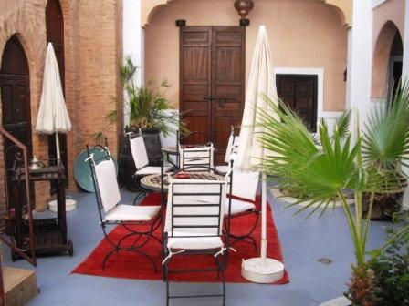 Casa en Marrakech para  15 •   con balcón