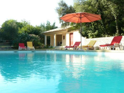 Gite Aubussargues - 9 personnes - location vacances  n°37939