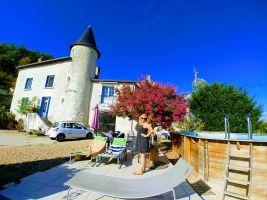 Huis in Beaumont voor  10 •   met privé zwembad