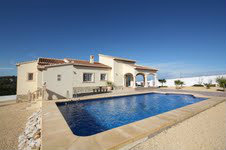 House in MORAIRA - Vacation, holiday rental ad # 38085 Picture #8