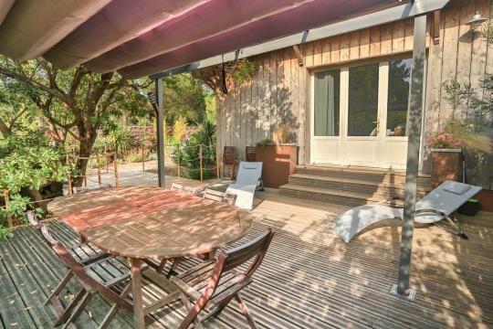 Huis in Cap-ferret voor  8 •   hoog luxe niveau