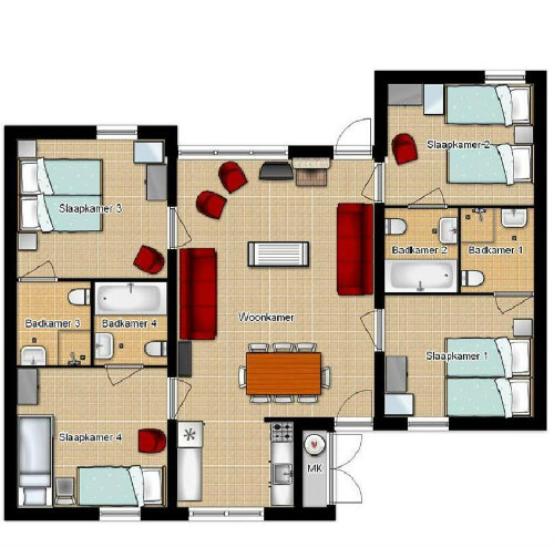 House Lochem - 10 people - holiday home  #39022