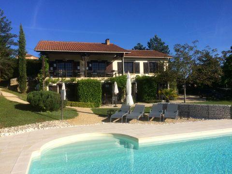 Maison 10 personnes Saint Cybranet - location vacances  n°39212