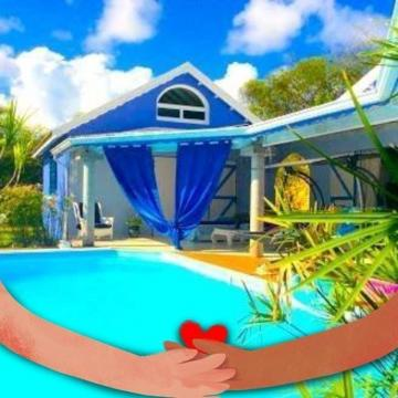 Maison Gosier - 2 personnes - location vacances  n°39241