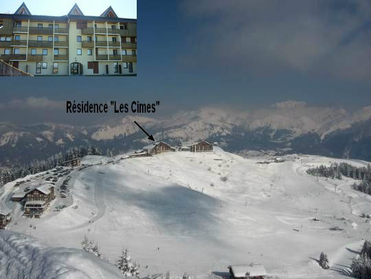 Studio in Samoëns - Vacation, holiday rental ad # 39298 Picture #0