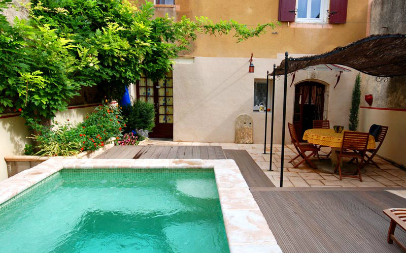 Gite 6 people Cazouls D'hérault - holiday home  #39379