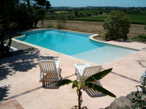 Chalet in Cazouls les béziers - Vacation, holiday rental ad # 39451 Picture #0