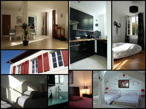 Maison 8 personnes Biarritz - location vacances  n°39477