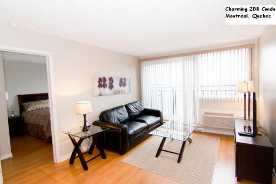 Flat in Montreal - Vacation, holiday rental ad # 39616 Picture #1